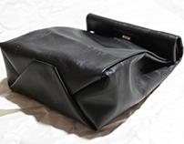 DIY Paper Bag Clutch