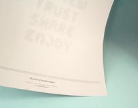 Boundary Typeface