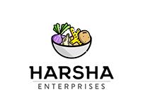 Harsha Enterprises logo- Onion,garlic,ginger wholesaler