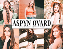 Free Aspyn Ovard Mobile & Desktop Lightroom Preset