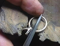 Frederic Bonnet Designs, 'Making Of' Engagement ring!