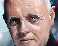 Portrait Study | Sir Anthony Hopkins