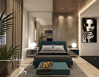 Master bedroom #modern #interior