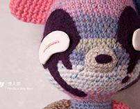 MOJU 情人節 / MOJU Knitting Dolls
