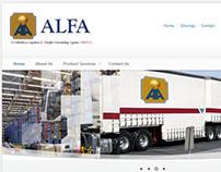 Alfa-Mena Website