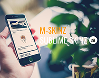 REINVENTED M-SKINZ AD MOBILE | SUBLIME SKINZ
