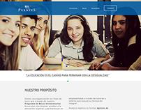 Puentes - Web design