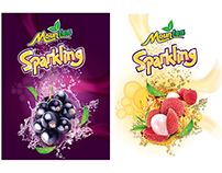 Mountea Sparkling  |  Packaging development