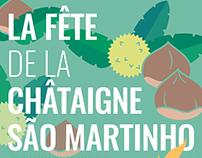 Fête de la châtaigne Dia de Sao Martinho