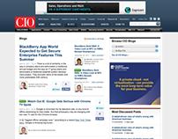CIO Blogs Redesign