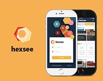hexsee - Mobile App, USA