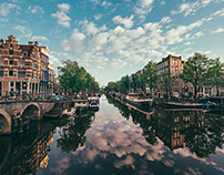 AMSTERDAM - EUROPE AS BEAUTIFUL AS IT GETS