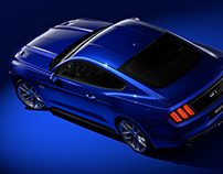 Ford Mustang GT 2015 – CGI