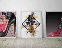 Digital Design 1: Collage Series