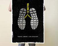 Smarter Travel Poster Design