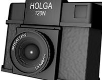 3D Holga Model