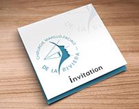 Invitation Card die cut