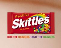 """SKITTLES """"Bite the rainbow"""" (draft)"""