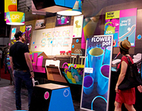HP Latex Atmosrphere Experience stand