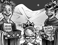 Caricature - satire politique (pour l'ACSQ)