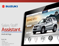 Suzuki Pitch - Sales Staff App