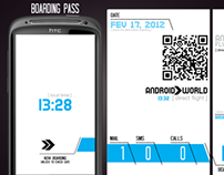 Boarding Pass - UX