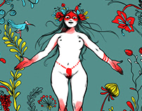 Deli Kadın - Pagan Feminism issue Cover 2016