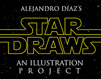 STAR DRAWS, an illustration project