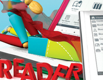 Sony Reader Gift Advertisement