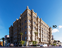 Mixed use building - Mohamed Magdy Designs -