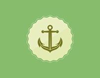 Anchor Vector Symbol