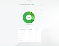 HealthCost web design