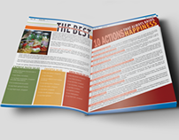 City of Moorhead Magazine/Newsletter Layouts
