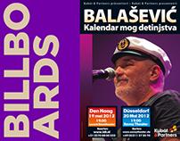 Billboard  for Đorđe Balašević, 2012