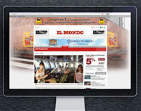 "Web portal for ""Il Mondo"" magazine"