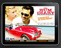 Website for the Rum Diary competition