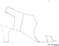 Heels, Heels, Heels- Technical Sketches