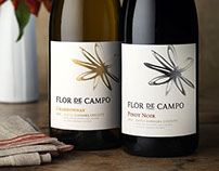 Flor De Campo Wine Label & Packaging