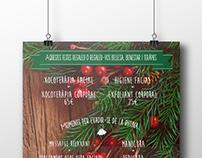 "Promotional Christmas Poster ""Espai Jess"""