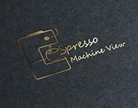 Espresso Machine Logo design