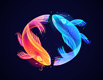 Fantasy Lights Fishes