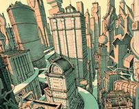 EXTRAPOLIS - Interactive Drawing City