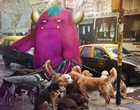 Perros Paseando Monstruos