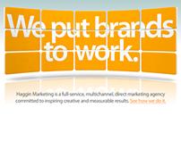 Haggin Marketing Website