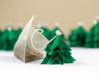 Tree tea holiday give-aways