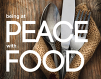 CD & Package design - Being at Peace with Food