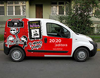 Diary of a Wimpy Kid - Portuguese car fleet campaign