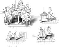 Organisation des espaces en CPE (pour CSPQ)