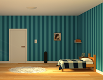Cartoon Room | 3D