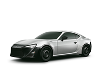 Toyota GT86 Simple Edition in vector